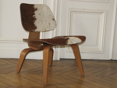 C.& ray Eames chaise LCW