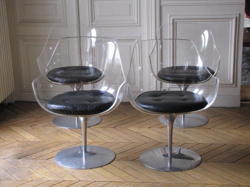 Laverne chaises Champagne