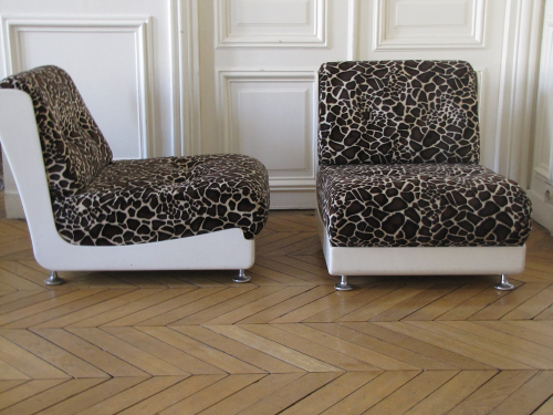 Chauffeuses girafe Garouste et Bonetti