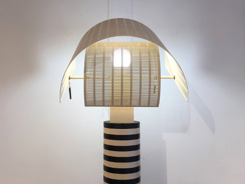 Lampadaire Shogun, design Mario Botta, ed. Artemide, 1988