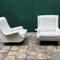 Paire de fauteuils , modèle Régent, design Marco Zanuso